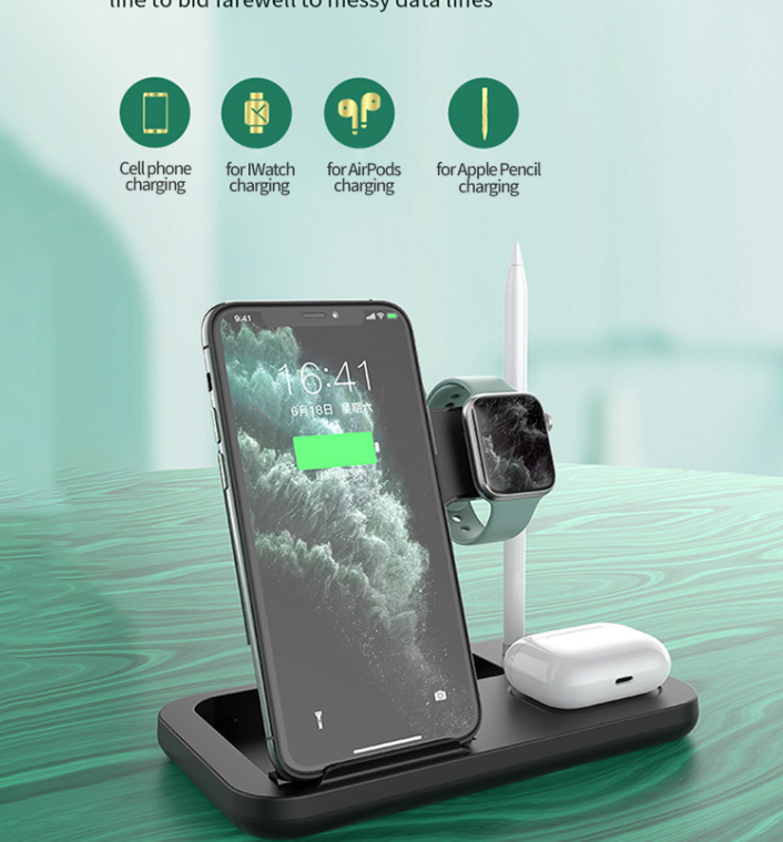 4 in1 wireless charger