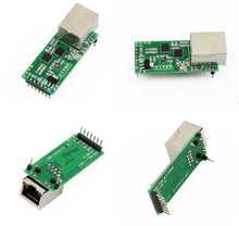 USR-TCP232-T2 Serial to RJ45 Module UART TTL to Ethernet TCPIP Converter Support DHCP and DNS