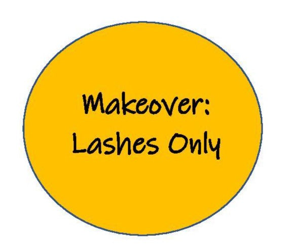 Makeover: Just Lashes - No Actual Makeover