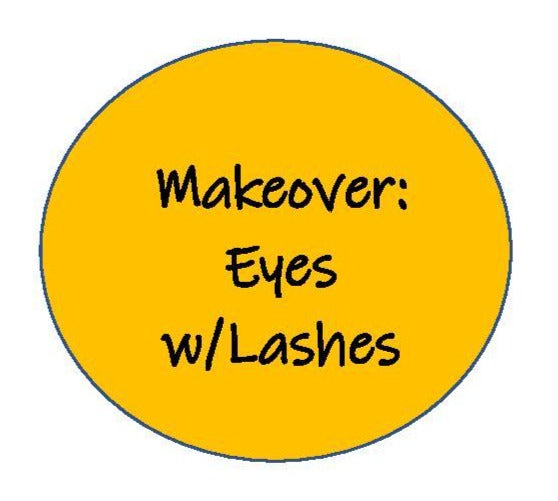 Makeover: Just Eyes with Lashes