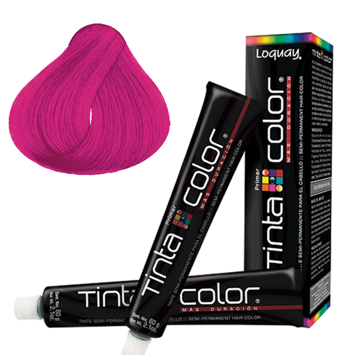 Loquay Tinta Color Fucsia