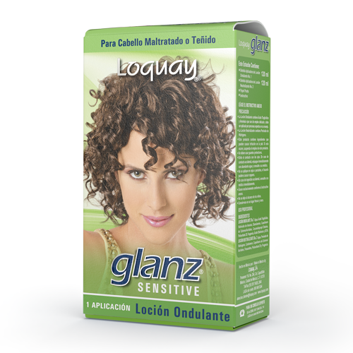 Glanz Sensitive Loción Ondulante