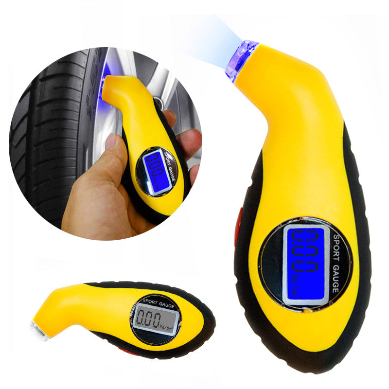 Portable Tire Pressure Gauge