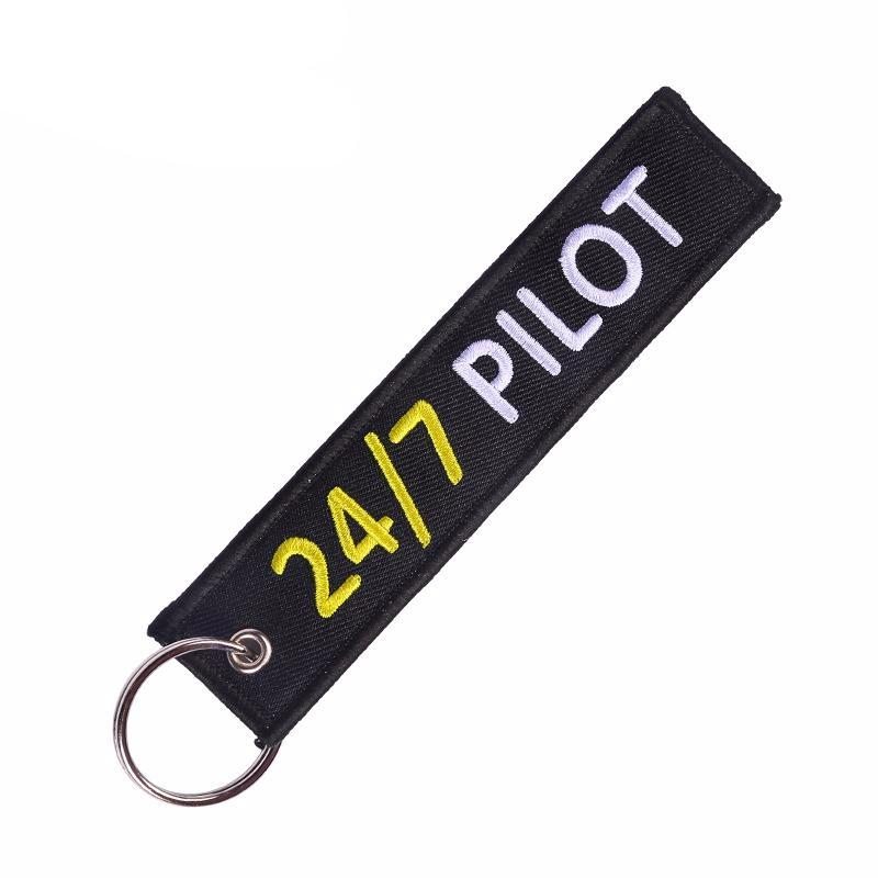I Am 24/7 Pilot - Key Tag