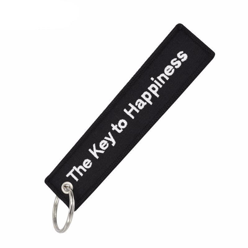 The Key to Happiness - Key Tag
