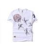 Flying Crane Cotton Tshirt