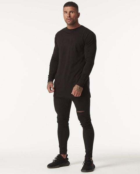 Lavenchy - Black Long Sleeve Tee