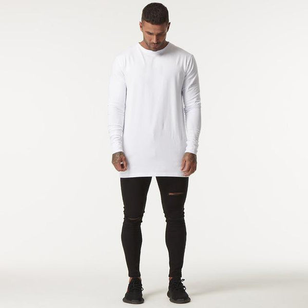 Lavenchy - White Long Sleeve Tee