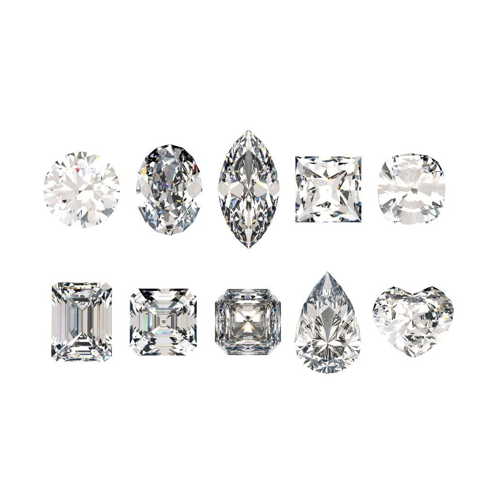 10 Diamond Shapes for Engagement Rings