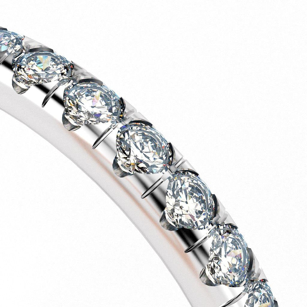 A Sparkly Pavé Setting Style for Diamonds