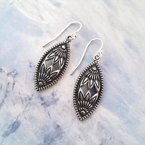 New Protea Marquise Earrings
