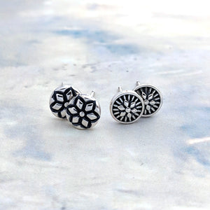 New Magnolia Mini Studs