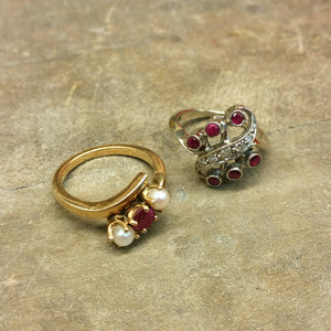 Custom Design Story: Heirloom Ruby Ring