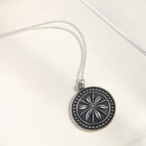 New Jewel Alert! The Star Anise Coin Medallion Necklace