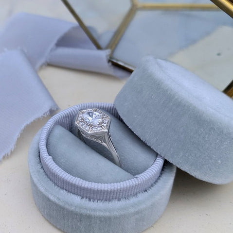 Christine Alaniz Designs - Pinterest Board for Engagement and Wedding Rings