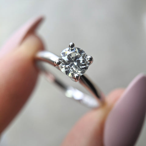 christine alaniz designs - a new diamond for her engagement ring