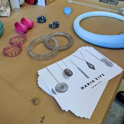 JV Collective Studio Visit with the Women's Jewelry Association of Philadelphia - Maria Eife Jewelry