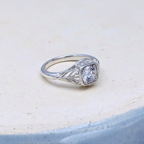 Christine Alaniz Designs - The Lillian Engagement Ring