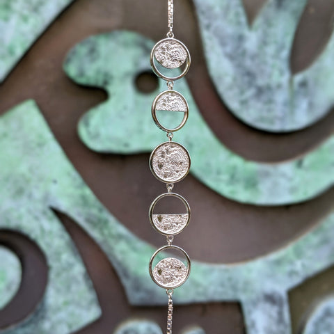 Christine Alaniz Designs - Lunar Moon Phases Necklace