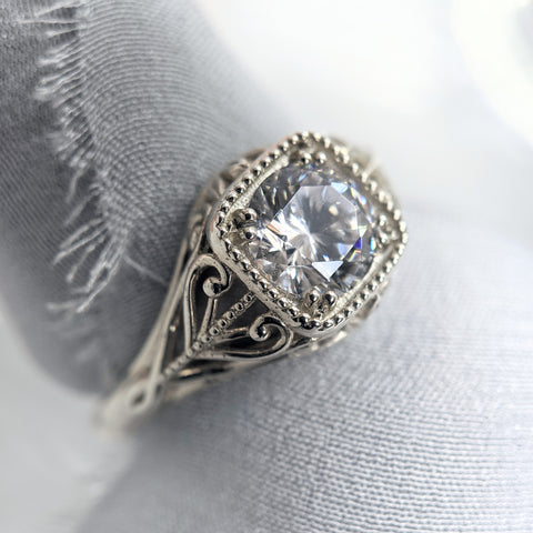 Christine Alaniz Designs - Lillian Engagement Ring