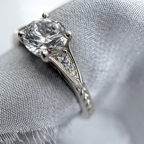 Christine Alaniz Designs - Alyssa Engagement Ring