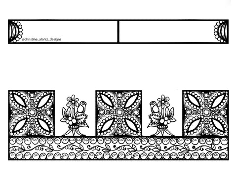 Christine Alaniz Designs - Jewelry Coloring Pages Diadem Crown