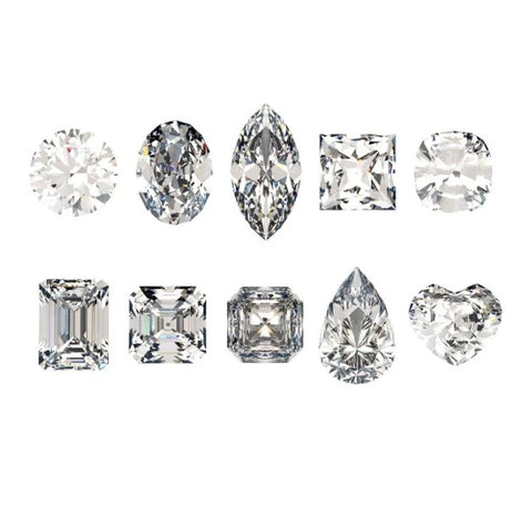 Christine Alaniz Designs - Diamond Shapes for Engagement Rings
