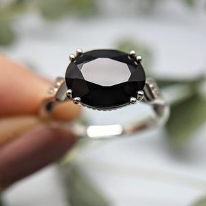 Lillian East/West Onyx Ring