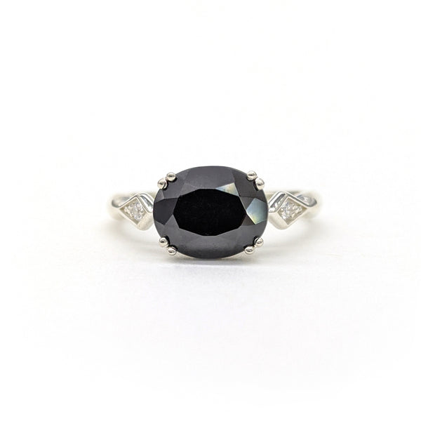 Lillian East-West Onyx Ring
