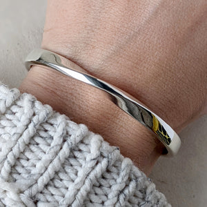 Mobius Twist Bracelet with a Secret Message