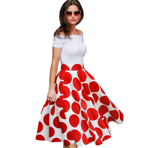 Vintage Rockabilly Pin-up Dress