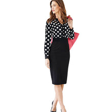 Long Sleeve Pencil Dress