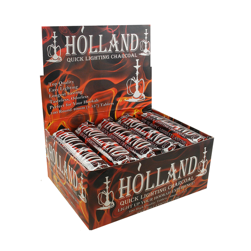 Holland Quick Lighting Charcoal 40mm