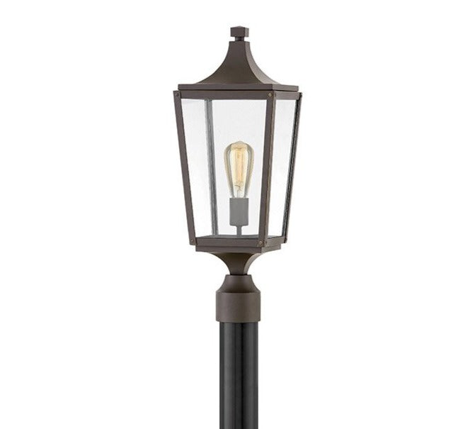 Hinkley Lighting 1291OZ Jaymes Post Light Oil Rub Bronze
