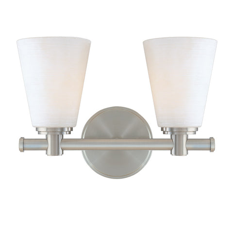 Hudson Valley 1842SN Garland Vanity Light Satin Nickel