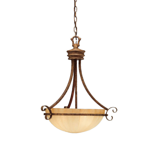Kichler 3321LBZ Northam Inverted Pendant Lincoln Bronze