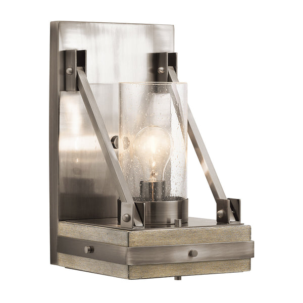 Kichler 43436CLP Colerne Wall Bracket Light Classic Pewter