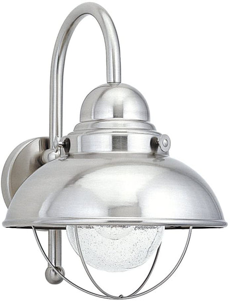 Sea Gull Lighting 8871-98 Sebring Wall Sconce Brushed Stainless