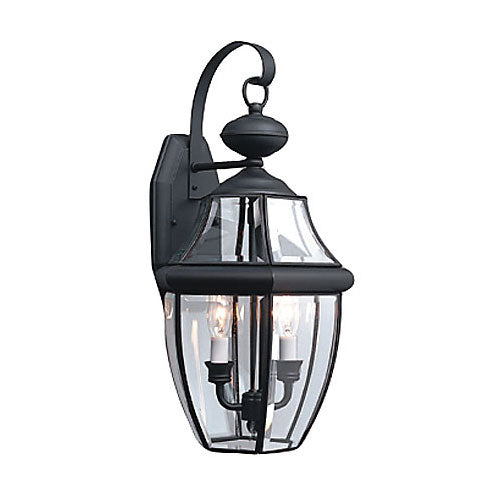 Sea Gull 803912 Lancaster Outdoor Lantern Black