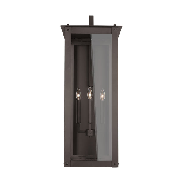 "Capital 934642 Hunt 36"" Outdoor Wall Lantern Oiled Bronze"