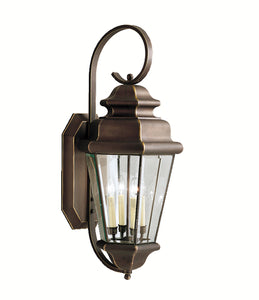 Kichler 9631OZ Savannah Estates Entrance Lantern Olde Bronze