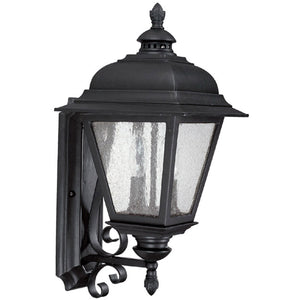 Capital 9962BK Brookwood Outdoor Lantern Black