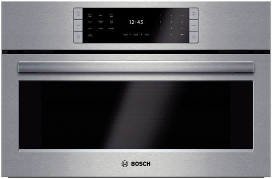 "Bosch HSLP451UC 30"" Steam Convection Oven Stainless"