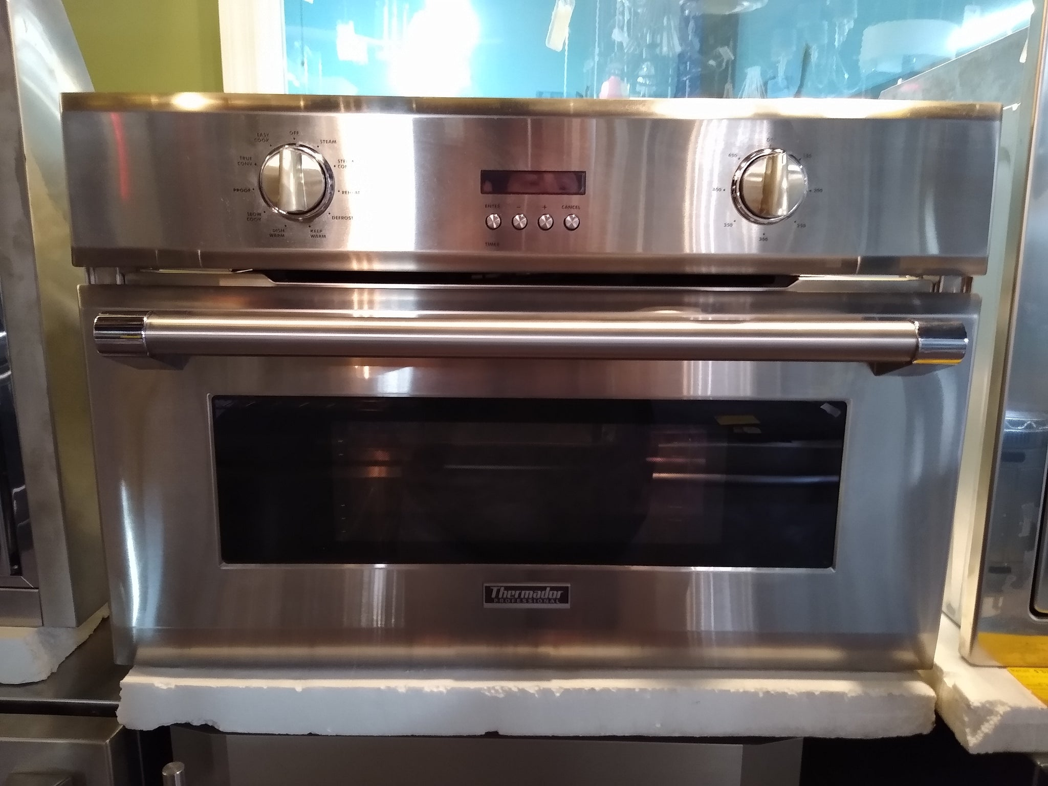 "Thermador 30"" Single Steam Convection Wall Oven Stainless ""AS IS"""