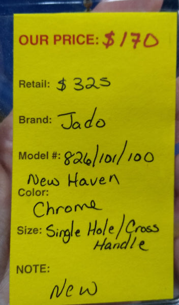 Jado 826/101/100 New Haven Single Hole Faucet Chrome