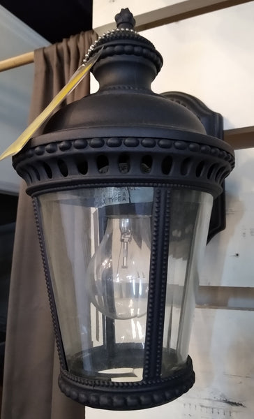 Feiss OL1900BK Castle Entrance Lantern Black