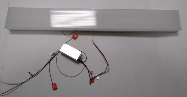 WAC WS-63724-27-AL Strip LED Bath Wall Light Brushed Aluminum