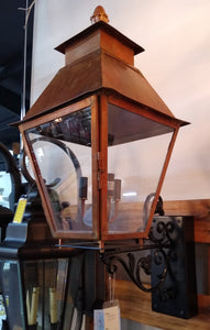 Coppersmith Electric Lantern Natural Copper