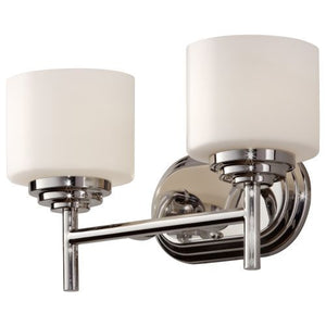 Feiss MVS26002PN Malibu Vanity Lighting Polish Nickel
