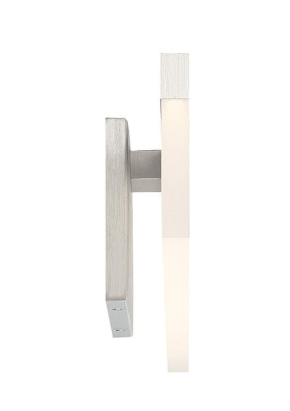 WAC WS-17825 Verge Bath Wall Light Brushed Aluminum